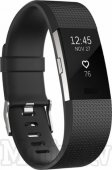 Fitbit Charge 2 small smart fintess tracker, black/silver - fitness-aproce