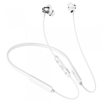 Baseus Encok S12 Bluetooth Bezvadu austiņas ar mikrofonu, Balts | Wireless in-ear headphones Bluetooth white
