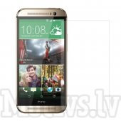 Screen Protector for HTC One M8, transparent clear guard - ekrāna aizsargplēve, protektors