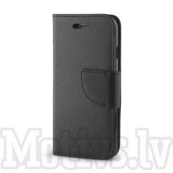 Sony Xperia XZ2 Compact H8314 H8324 Fancy TPU Book Case, black