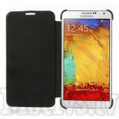 Samsung Galaxy Note 3 Neo N750 N7505 N7502 Duos Leather Book Case Cover Stand, black - maks maciņš, vāciņš
