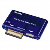Hama Card Reader Writer 35 in 1 USB 2.0 55348