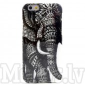 "Apple iPhone 6 6S 4.7"" Colorize! Soft TPU Silicone Gel Case, elephant – maciņš vāciņš"
