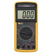 M6800 Digital Multimeter LCD AC/DC Ammeter Resistance | Digitālais multimetrs testeris