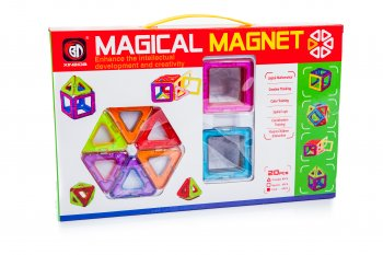 Magical Magnet Blocks Bricks Educational Building Toy 20 pcs.