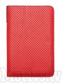 "Pocketbook 6"" Touch Lux 3 614, 615, 624, 625, 626, 631, 641 original case cover, red dot - sarkans vāks"