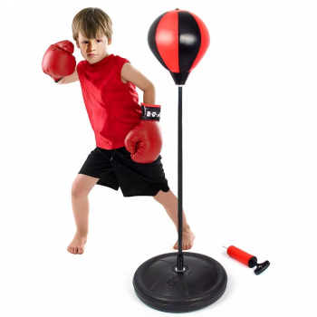 Kids Boxing Punch Pear with Gloves