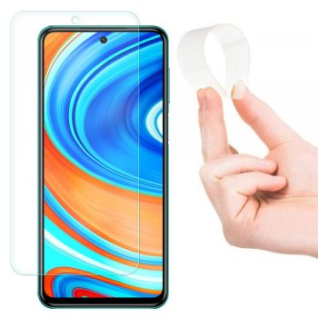 Nano FIlm Tempered Glass for Xiaomi Redmi Note 9 Pro / 9s / Max, Clear Transpartent | Lokāms Aizsargstikls, protektors