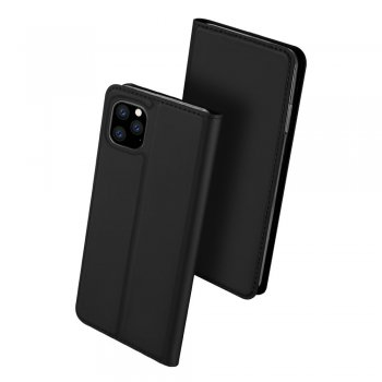 Apple iPhone 11 Pro DUX DUCIS Leather Case - Black