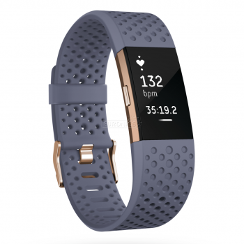 Fitbit Charge 2 Special Edition small bluegrey/rosegold