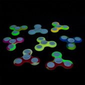 Fidget Spinner Fluo Luminescent Mix