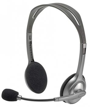Logitech H 110 Stereo Headset silver retail