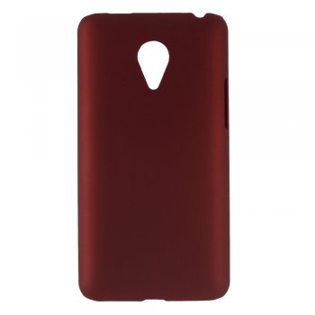 MEIZU MX4 Pro Rubberized Hard Shell Bumper Case Cover, red - aksesuārs vāks bamperis