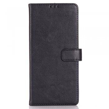 Samsung Galaxy S20+ Plus PU Leather Case Cover - Black | Чехол Книжка для телефона