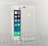 Apple iPhone 5 5s Glossy Silicon TPU soft case cover, transparent - эластичный кейс для телефона