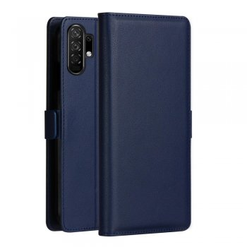 Samsung Galaxy Note 10 Plus (SM-N975F), Dark Blue DZGOGO Leather Wallet Case