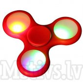 Fidget LED Spinner Red