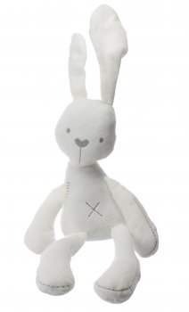 Plīša Trusis Rotaļlieta | Plush White Rabbit Toy