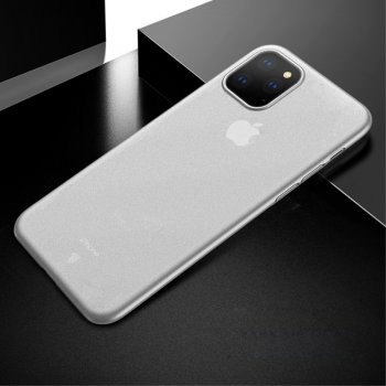 Apple iPhone 11 Pro X-LEVEL Ultra-thin Matte PC Case Cover, transparent | Vāciņš maciņš bamperis