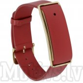 Huawei Color Band A1 Leather Armband red