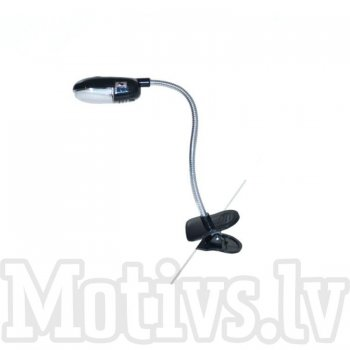 Clip-on e-reader LED reading lamp light - lasīšanas gaisma, LED lampiņa