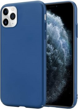 Apple iPhone 11 Matte Phone Case Cover, Dark Blue | Обложка бампер