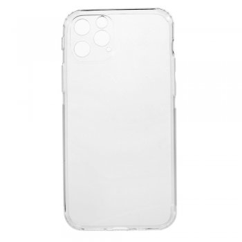 Apple iPhone 11 силиконавый кейс чехол (Anti-Shock TPU Silicone Case Transparent)