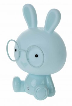 "Decorative Night Lamp ""Rabbit"", Light Blue"