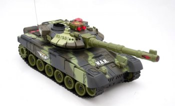 RC War Tank 9993 2.4Ghz - radiovadāms tanks