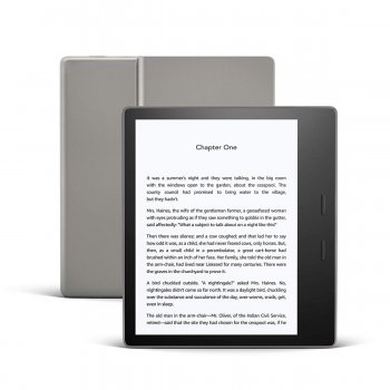 Amazon Kindle Oasis 3 - 32GB, E-book reader with light WiFi, Gray
