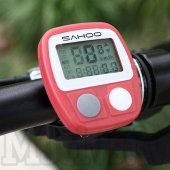 Sahoo wired waterproof bike computer bicycle speed meter‎ - dators ritenīm