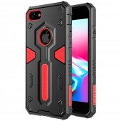 "Apple iPhone 7 8 Plus 5.5"" Nillkin Defender Grip PC + TPU Hybrid Case, red – vāks bamperis"