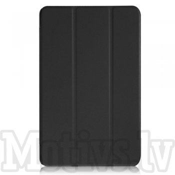 Huawei MediaPad T2 10.0 Pro Tri-fold Stand Smart Leather Case Cover, black - vāks apvalks pārvalks
