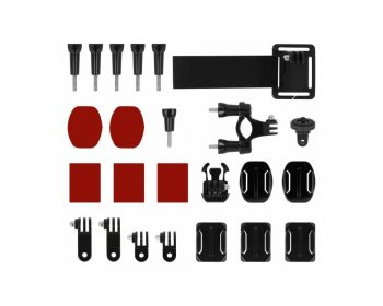 Sports Action Camera Accessory Montage Kit Set Powerbee Extended