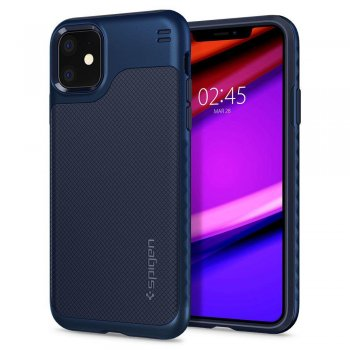 "Spigen Hybrid ""NX"" for Iphone 11 Navy Blue + Gold Frame 
