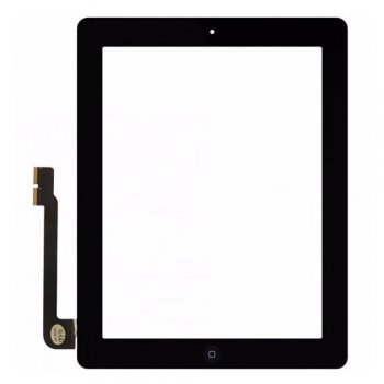 Digitaizer Assembly iPad 3 black ORG