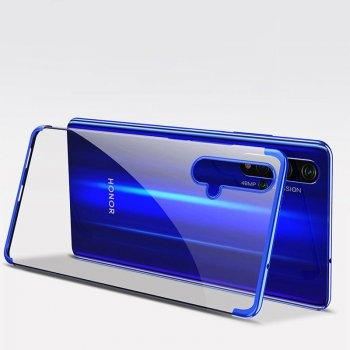 Huawei Honor 20 / 20s / Nova 5T Clear Color Electroplating Cover, Blue | Vāciņš, maciņš