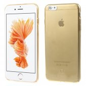 "Apple iPhone 6 6S 4.7"" Baseus Sky Ultra Slim Thin PC Plastic Case, transparent gold - ultra plāns telefona vāciņš"