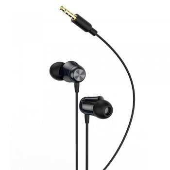 Austiņas Baseus Encok H13 ar mikrofonu, Melns | In-ear earphone with remote control, black