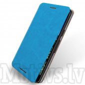 LG Google Nexus 5X H791 MOFI Rui Leather Book Case Cover Stand, blue - maks maciņš, vāciņš