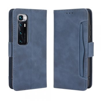 Xiaomi Mi 10 Ultra Wallet Stand Flip Leather Protective Case Cover, Blue