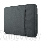 "Macbook Air Pro 13"" Sleeve Pouch Laptop Bag for 13"" Laptops, Size: 325 x 227 x 18 mm, grey - vāks aploksne laptopam"