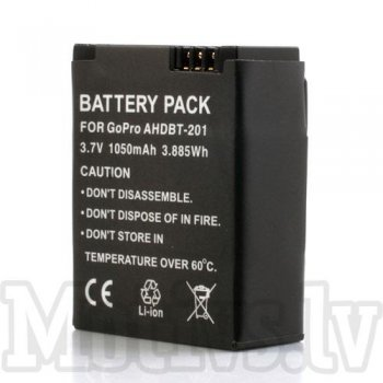 Gopro Hero 3 / 3, Battery, 1050mAh