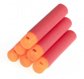 NERF N-STRIKE Foam Bullets Darts 6 pcs.