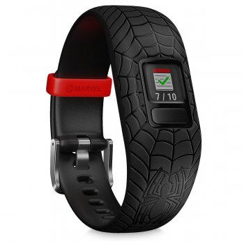 Garmin Vivofit jr. 2 Marvel Spider-Man, black