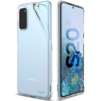 Samsung Galaxy S20 Ringke Air Ultra-Thin Cover TPU Case, Transparent | Telefona vāciņš maciņš bampers