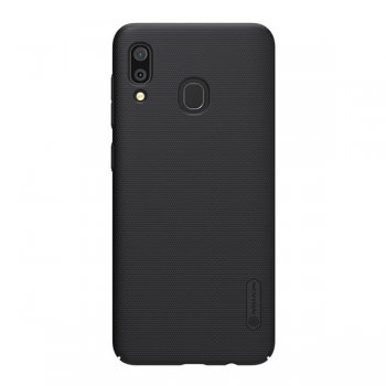 Samsung Galaxy A30 (SM-A305F/DS) Nillkin Super Frosted Shield Case cover, Black | Чехол чёрный