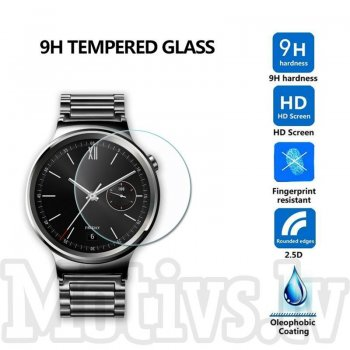 Tempered Glass Screen Protector for Huawei Smart Watch 42mm, 0.3mm transparent guard - ekrāna aizsargstikls, protektors