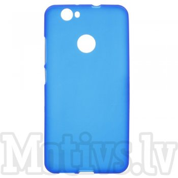 Huawei Nova CAN-L01 L11 Frosted TPU Gel Case Bumper Cover, blue - vāks bamperis
