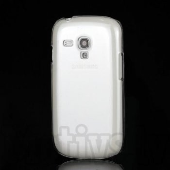 Samsung Galaxy S3 SIII mini i8190 Crystal Clear PC Protective Back Case, transparent - aksesūars vāks maks